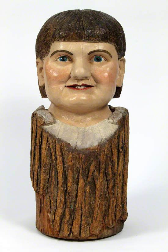 Carved Male Head
