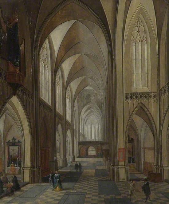The Church of the Dominican Friars, Antwerp
