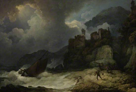 A Storm with Smuggler's Landing