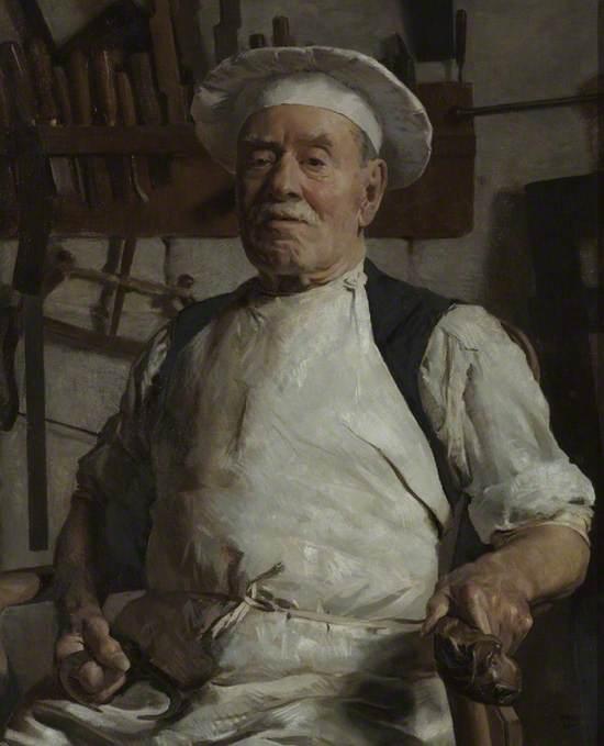 Charles Baker (1841–1932), the Chairmaker, Bath
