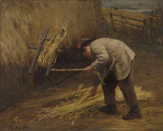 Spinning Thatch Bands