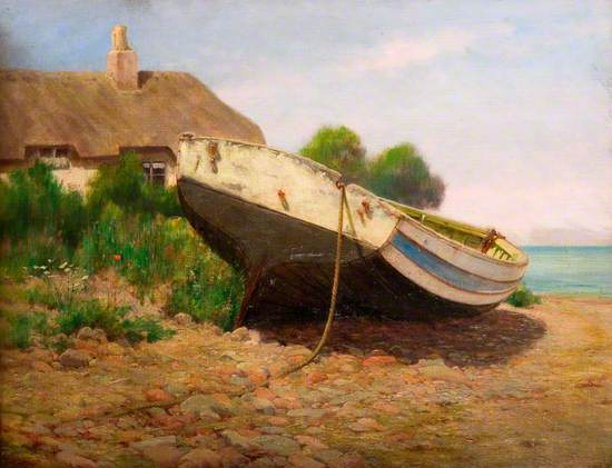 Boat and Cottage