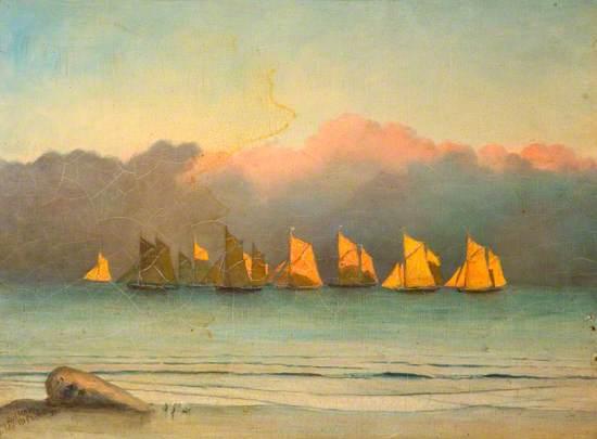 Fishing Fleet, Tenby
