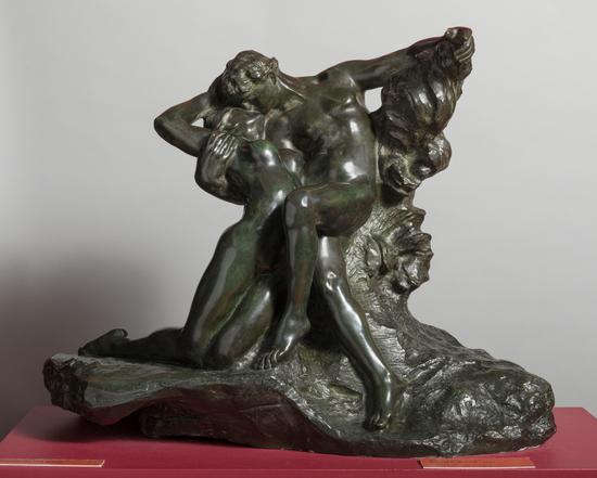 Audio description of 'Eternal Spring' by Auguste Rodin