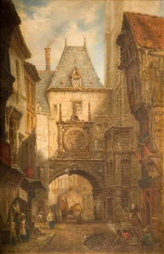 Rue de la Grosse Horloge, Rouen