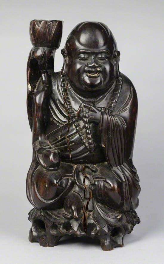 Lacquerware Holy Man