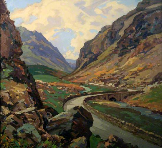 Llanberis Pass, North Wales