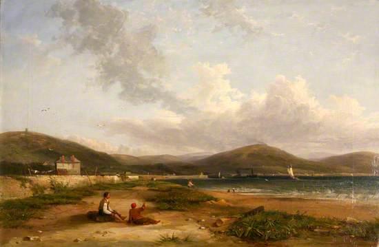 Fabian's Bay, Swansea, 1844