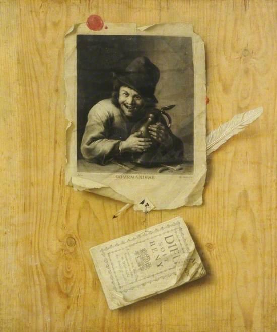 Gourmandise (Trompe l'oeil)