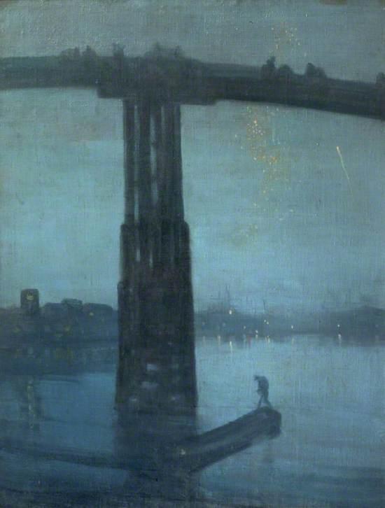 Nocturne: Blue and Gold - Old Battersea Bridge