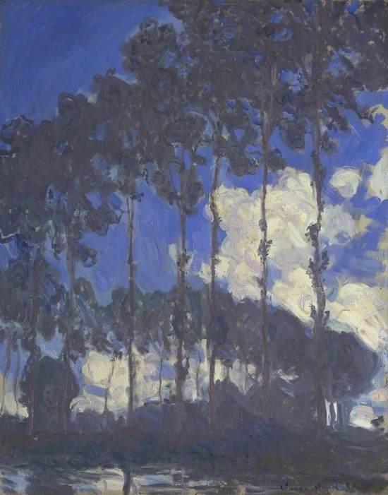 Poplars on the Epte (Les Peupliers au bord de l'Epte)