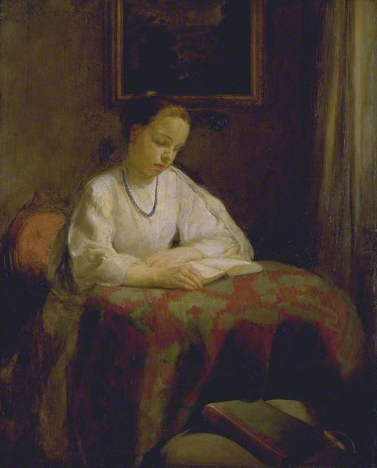 Interior: Girl Reading