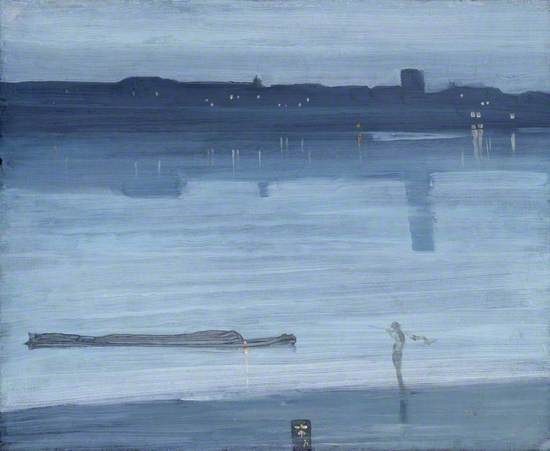 Nocturne: Blue and Silver - Chelsea