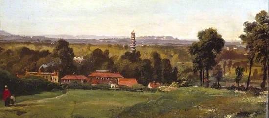 Kew Gardens from Richmond Hill