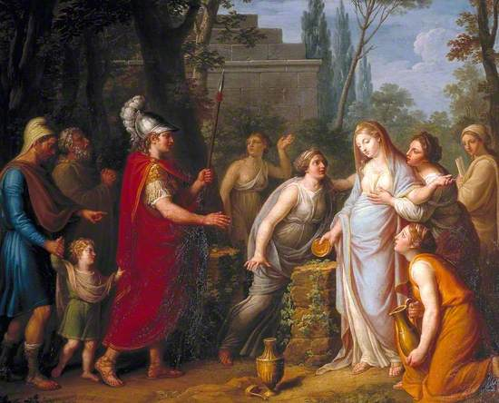 Andromache Offering Sacrifice to Hector's Shade