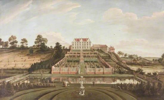 Dutch Mansion with Garden