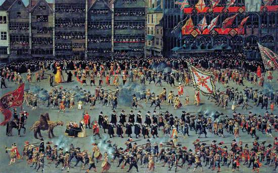 The Ommeganck Procession in Brussels on 31 May 1615: The Senior Guilds