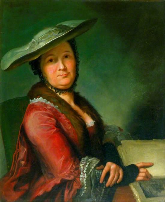 Madame Roubiliac, née Nicole Céleste Regnier (c.1722–c.1782), Third Wife of Louis François Roubiliac