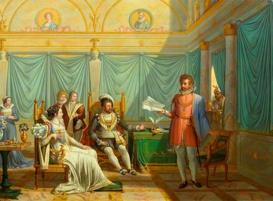 Tasso Reading before the Duke of Ferrara