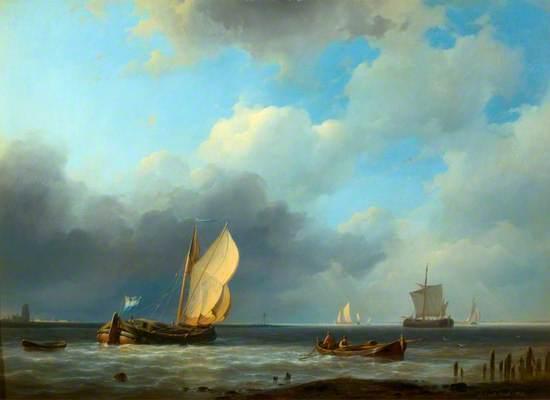 Sea Piece: A Threatening Sky