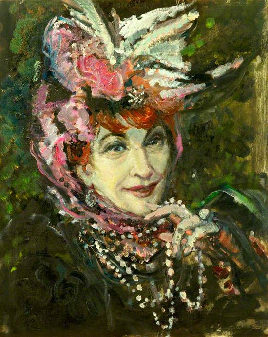 Martita Hunt (1900–1969), as Countess Aurelia in 'The Madwoman of Chaillot' by Jean Giraudoux