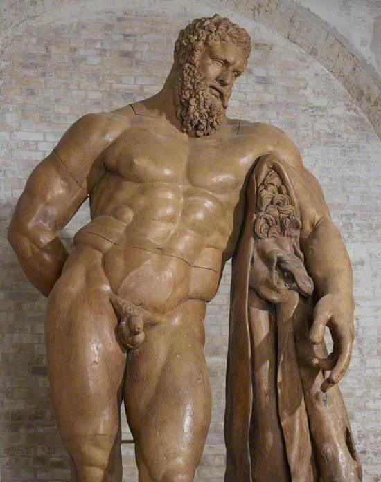 Audio description of 'The Farnese Hercules' after Glycon and Lysippos