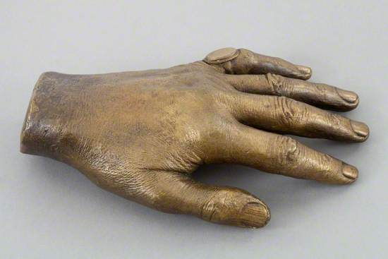 Cast of the Left Hand of Sir John Barbirolli (1899–1970)