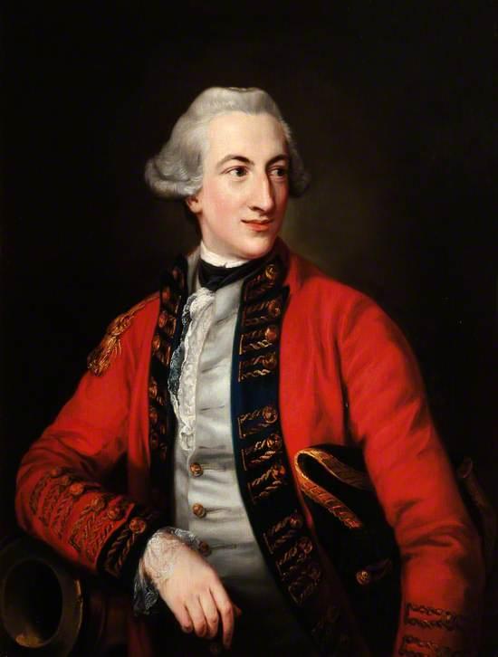 Hugh Percy (1742–1817), Lord Warkworth, Later 2nd Duke of Northumberland