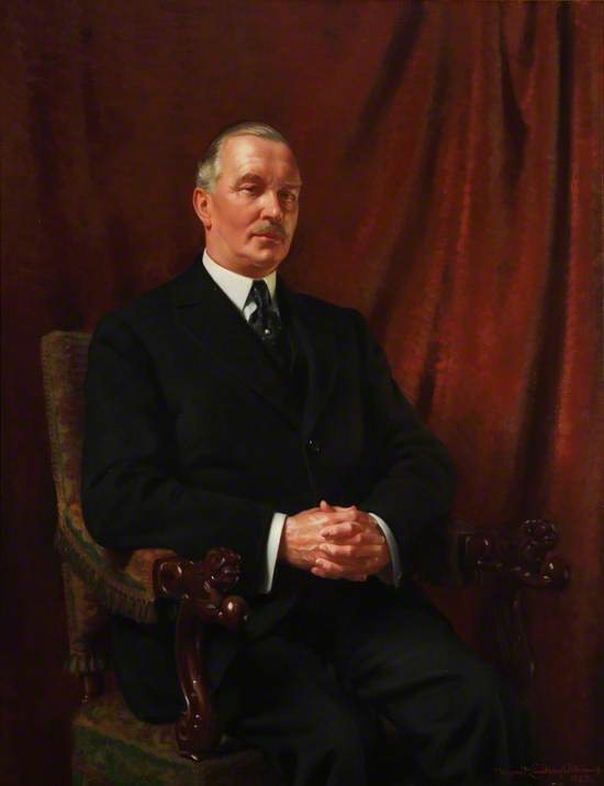 Sir Howard Button, Chairman of Middlesex County Council (1933–1936)