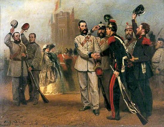 British Volunteers and the Belgian Garde Civique in Brussels