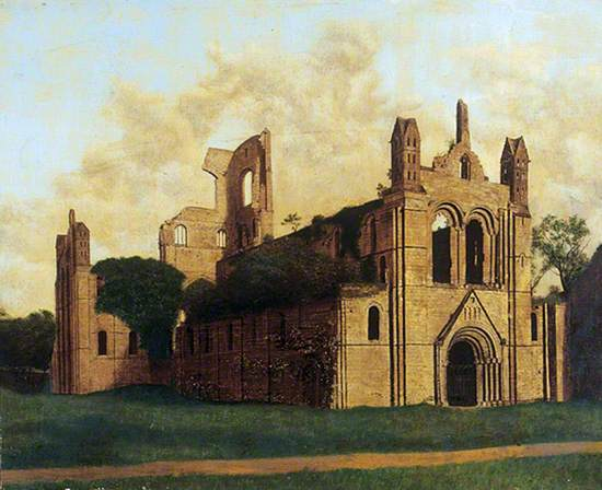 Kirkstall Abbey from the North West