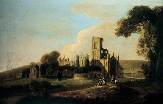 Kirkstall Abbey from the South East