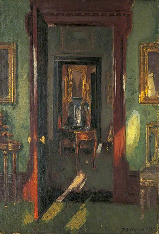 Interior, Rutland Lodge, Potternewton, Leeds: Vista through Open Doors