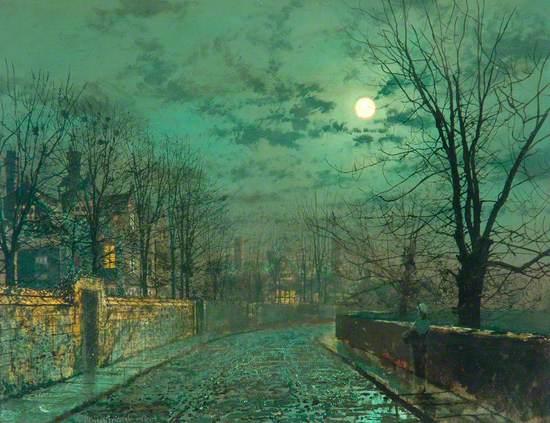 Moonlight Scene near Leeds