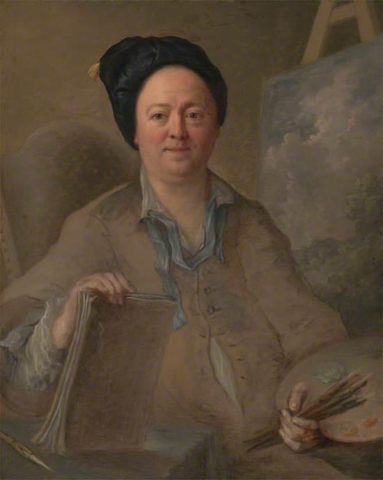 Portrait of a Landscape Painter, Possibly George Lambert