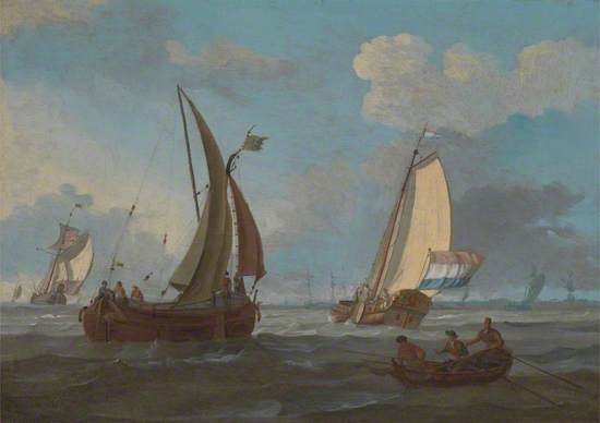 Dutch Shipping off the Low Countries