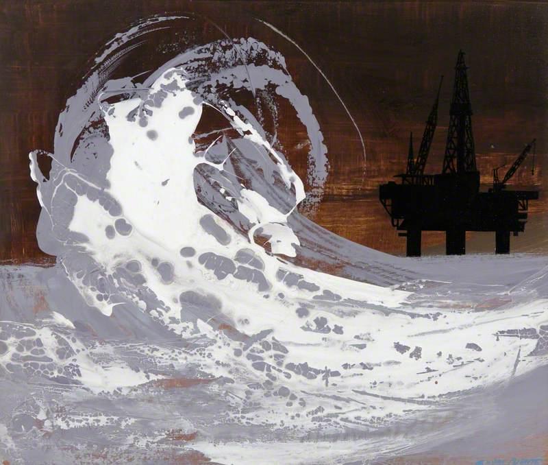 Black Rig, White Wave