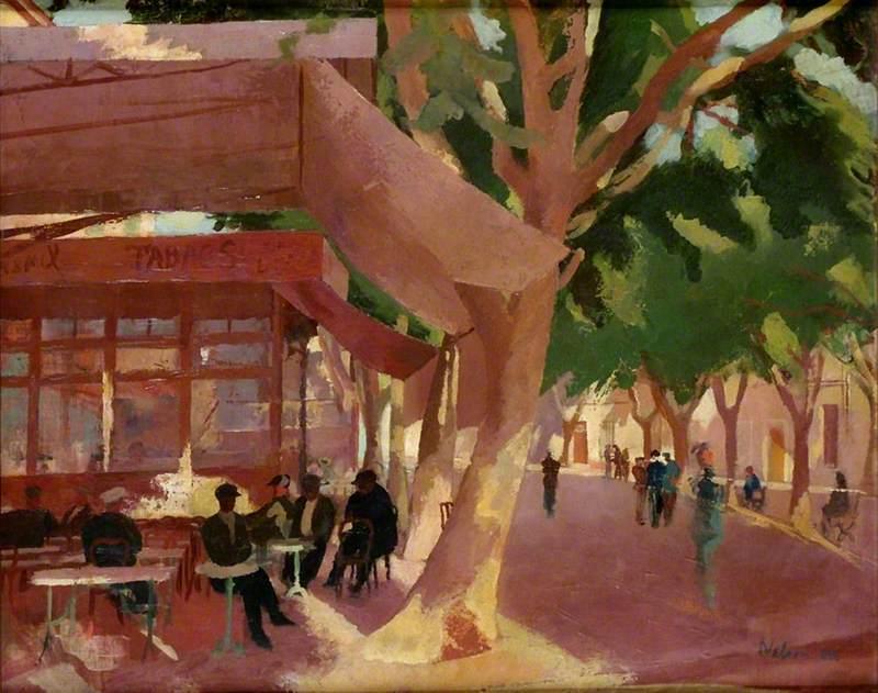 Café on the Boulevard – Café du Soleil, Martigues