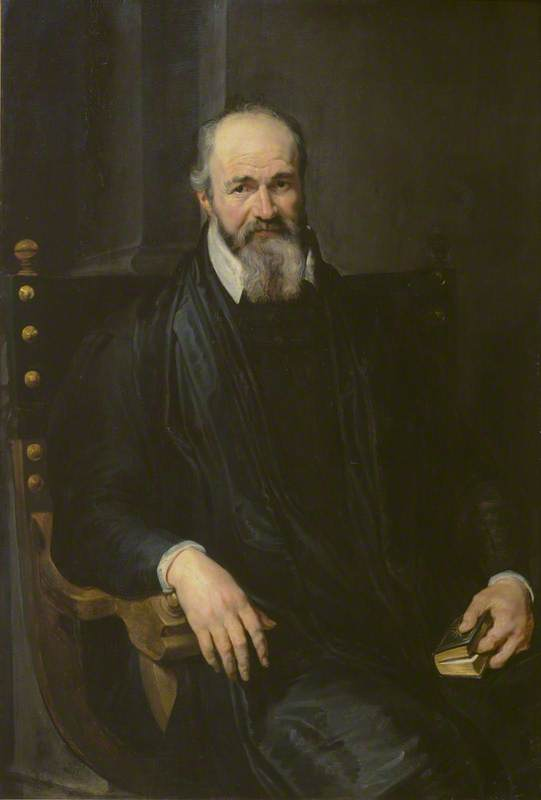 Portrait of a Man in an Armchair