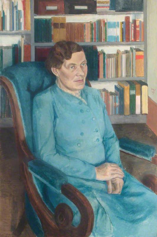 Florence Margaret Wood, MA, Principal of Southlands College (1931–1949)