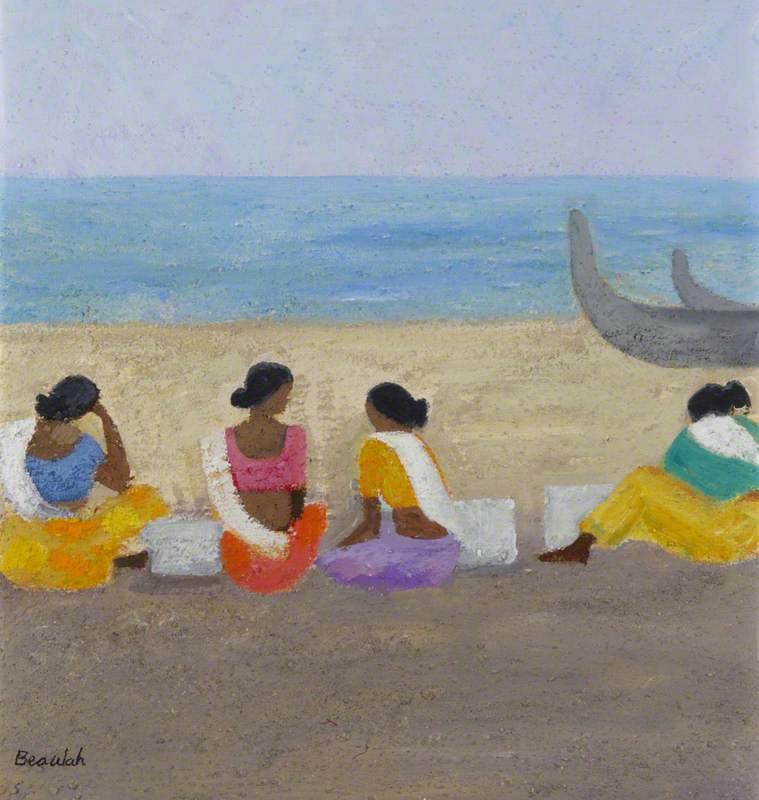 Fisherwomen Waiting