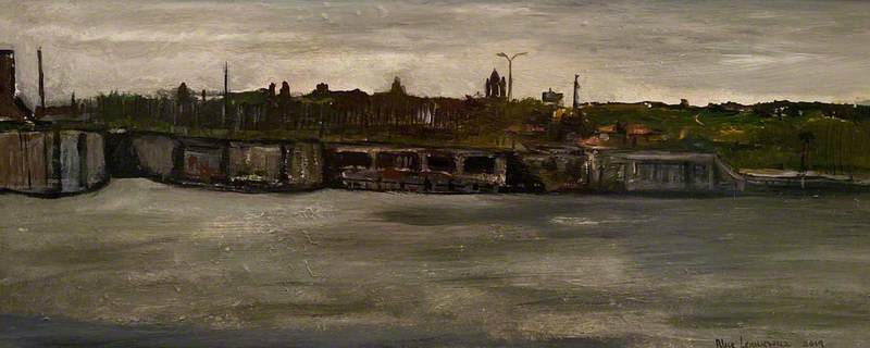 View of the Old Waterloo Dock, Liverpool