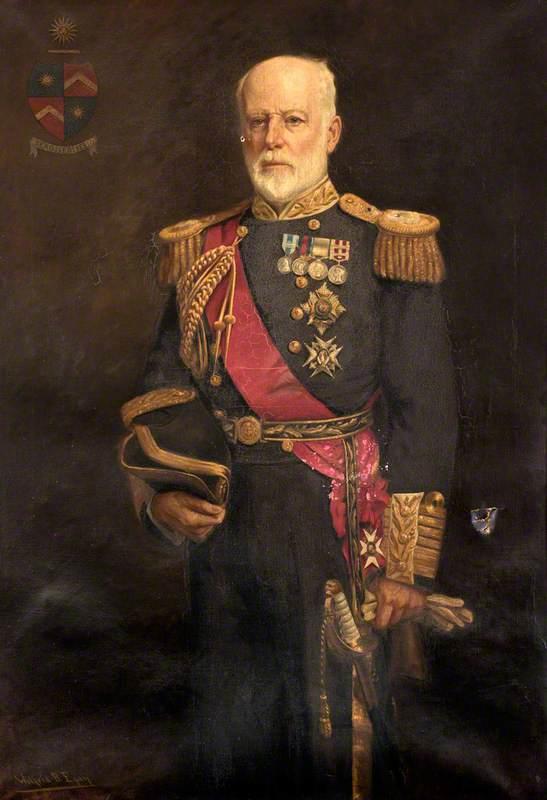 Admiral of the Fleet Lord Walter Talbot Kerr, GCB
