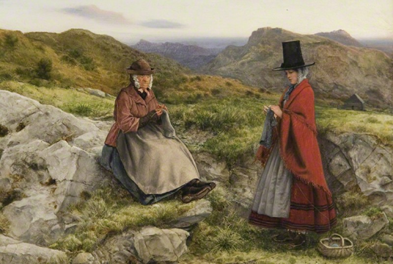 (detail), 1860, oil on canvas by William Dyce (1806–1864)