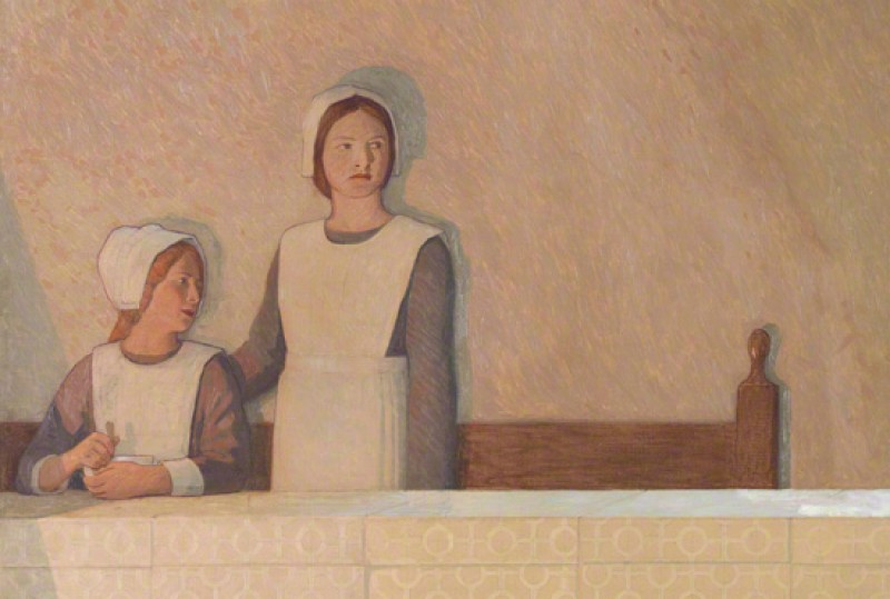 (detail), c.1915, oil on canvas by Frederick Cayley Robinson (1862–1927)
