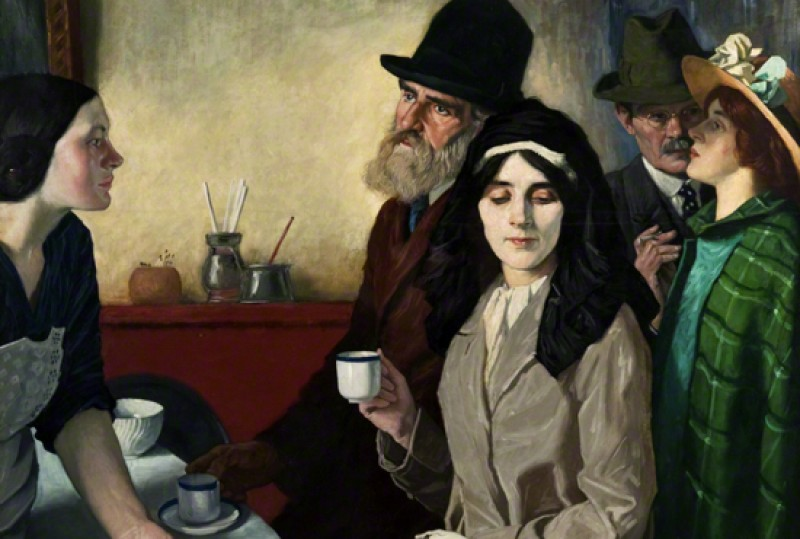 (detail), 1915, oil on canvas by William Strang (1859–1921)