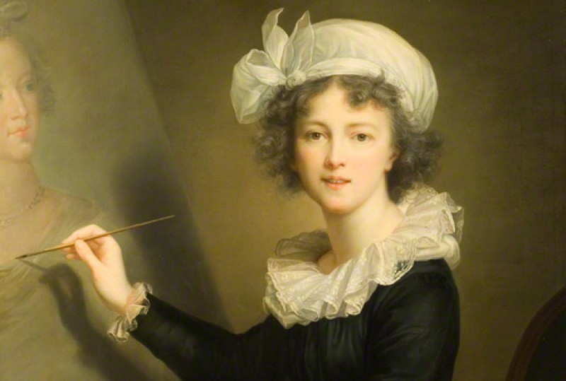 (detail), 1791, oil on canvas by Elisabeth Louise Vigée-LeBrun (1755–1842)