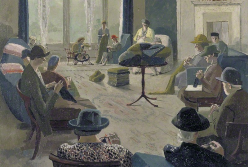 (detail), 1940, oil on canvas by Evelyn Mary Dunbar (1906–1960)
