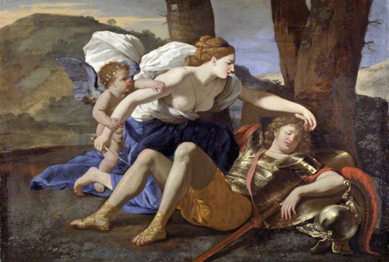 (detail), c.1628–1630, oil on canvas by Nicolas Poussin (1594–1665)