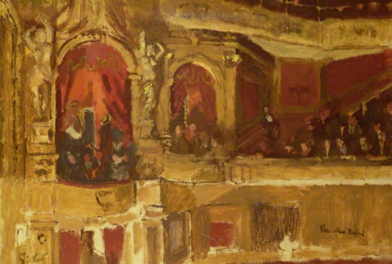 (detail), c.1915, oil on canvas by Walter Richard Sickert (1860–1942)